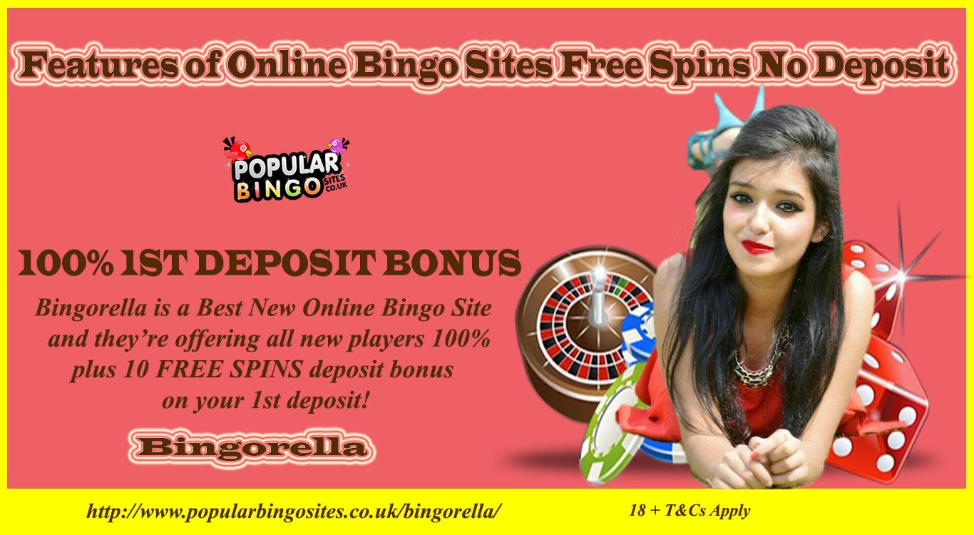 new bingo sites no deposit free spins